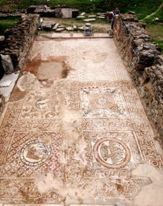 donation for archaeological site in North Macedonia
