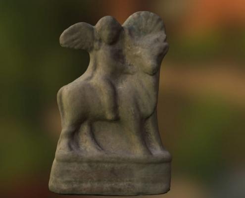 Terracotta Figurine archaeology stobi