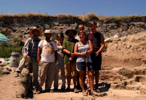 archaeological Chalcolithic excavation