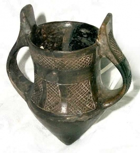 archaeological Chalcolithic vessel