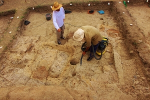 field school in Chalcolithic mesolithic archaeology