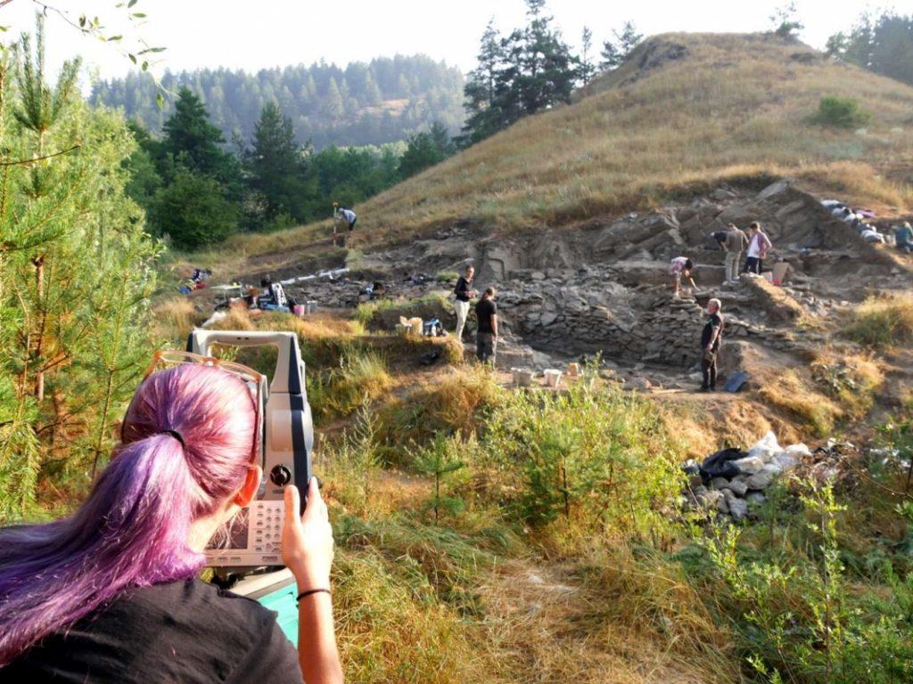 Bresto Bronze Age settlement near Bansko Bulgaria