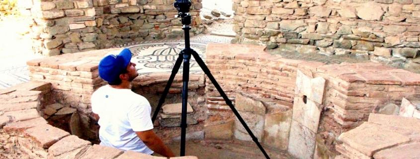 documentation of monuments in stobi