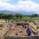 archaeological dig in Doclea Montenegro