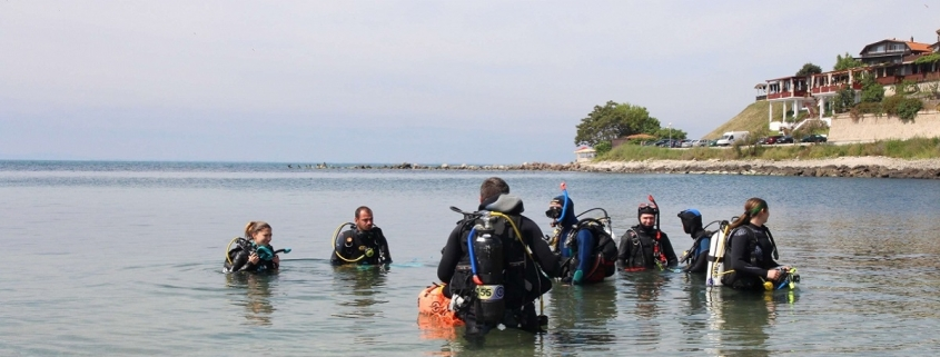 archaeology underwater training