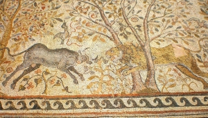 mosaic in Bitola Macedonia Heraclea Lyncestis Macedonia