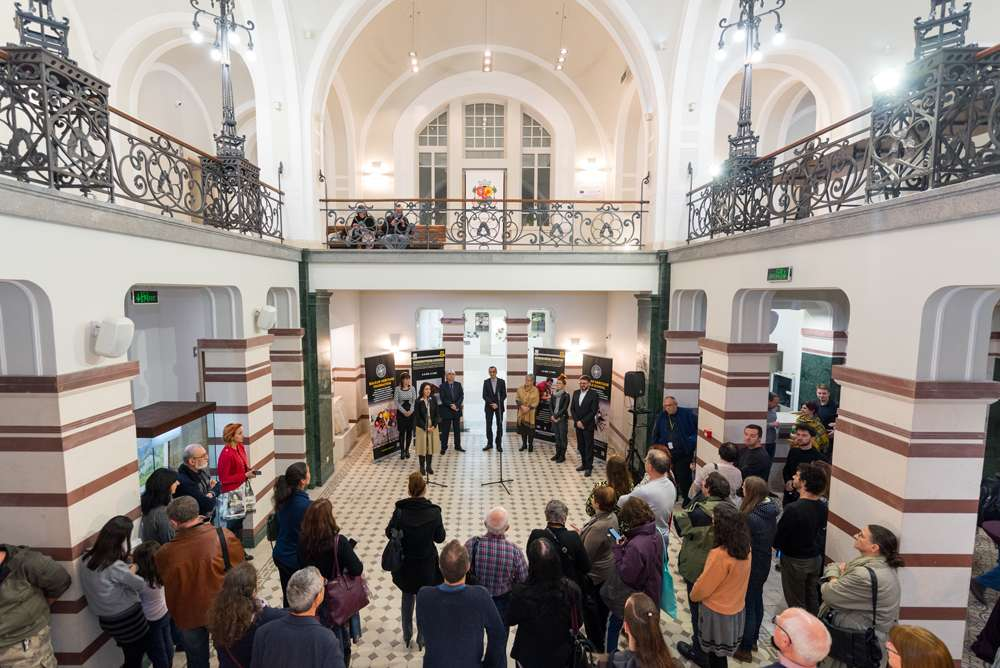 opening of archaeological exhibition Sofia History Museum
