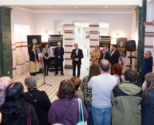 opening speech in Sofia History Museum exhibition