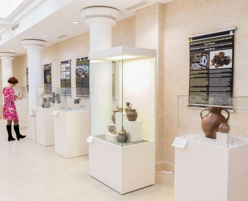 archaeological finds in museum Bulgaria