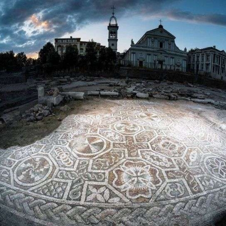 mosaics in Plovdiv