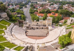 amphitheater in Plovdiv