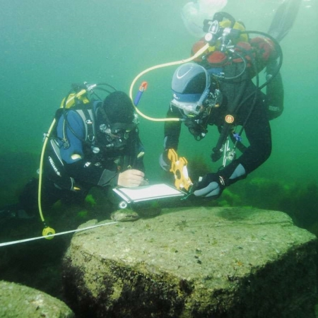 learning underwater archaeology