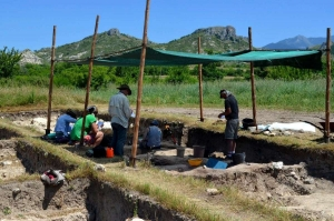 Neolithic field school Ilindentsi
