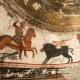 Wall paintings thracian horseman tomb alexandrovo