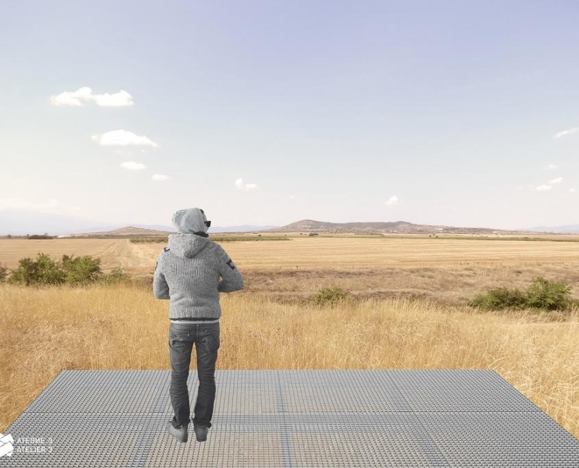 Prehistoric Tell Yunatsite View