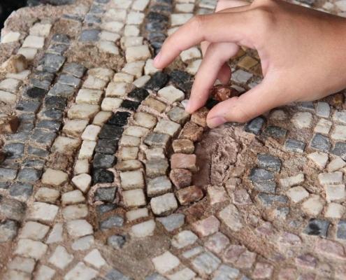 Workshop for Conservation of Roman Mosaics